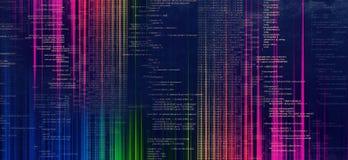 Inteligencji technologii tło ilustracja wektor
