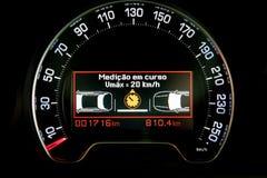Inteligentna prędkości kontrola technologia Zdjęcia Royalty Free