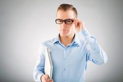 Inteligentny mężczyzna Fotografia Royalty Free