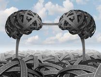 Inteligentny partnerstwa zarządzanie ilustracji