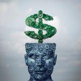 Inteligentny pieniądze royalty ilustracja