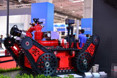 Inteligentny pożarniczy pojazd bojowy Obrazy Royalty Free
