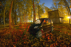 inteligentny samochód zdjęcia stock