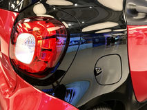 inteligentny samochód Obraz Royalty Free