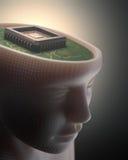 Inteligência artificial Foto de Stock Royalty Free