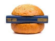 Intellectual burger Stock Photos