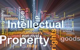 Intellectual property background concept Royalty Free Stock Photography