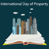 Intellectual property day concept  Royalty Free Stock Photo