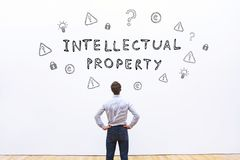 Intellectual property royalty free stock photo