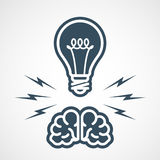 Intellectual property - power of mind Stock Photography