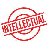 Intellectual rubber stamp Stock Image