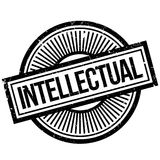 Intellectual rubber stamp Stock Photo