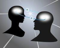 Intellectuele mededeling Stock Afbeeldingen