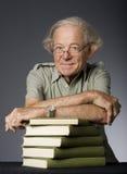 Intellektueller fälliger Mann Stockbild