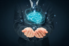 Intelligence artificielle et créativité illustration libre de droits