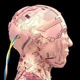 Intelligence artificielle et robotique Photos stock