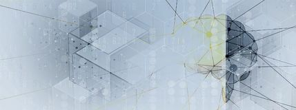 Intelligence artificielle Fond de Web de technologie Concentré virtuel illustration de vecteur