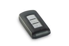 Intelligence car key isolated on white background Royalty Free Stock Photo