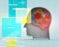 Intelligence concept Stock Image