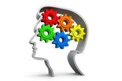 Intelligence concept Stock Photos