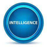 Intelligence Eyeball Blue Round Button. Intelligence Isolated on Eyeball Blue Round Button stock illustration
