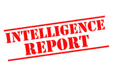 INTELLIGENCE REPORT Stock Photography