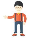 Intelligent asian guy Royalty Free Stock Image