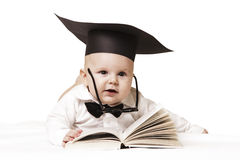 Intelligent baby Royalty Free Stock Images