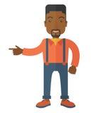 Intelligent black guy Royalty Free Stock Image