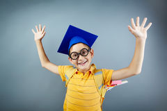 Intelligent boy Royalty Free Stock Photography