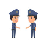 Intelligent Character Constabulary concludes business contract w Stock Images
