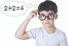 Intelligent child Stock Photo