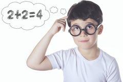 Intelligent child Stock Photo