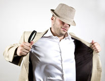 Intelligent detective Stock Images