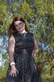Intelligent female Royalty Free Stock Images
