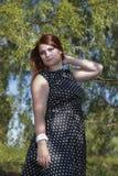 Intelligent female Royalty Free Stock Image