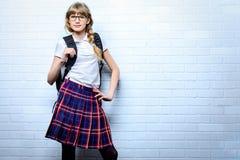Intelligent girl Stock Photo