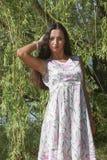 Intelligent girl. Stock Photography