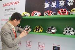 Intelligent helmet Royalty Free Stock Image