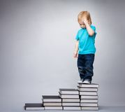 Intelligent kid Royalty Free Stock Photography