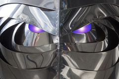 Intelligent living robot Stock Photos