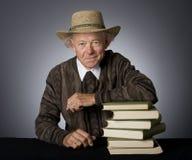 Intelligent Mature Man Stock Photo