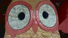 Intelligent Owl. Big eyes intelligent owl Royalty Free Stock Images