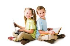 Intelligent pupils Stock Photos
