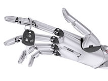 Intelligent Robotic begrepp för chaufförAssist System 3d illustration Royaltyfria Foton