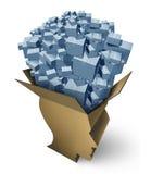 Intelligent Shipping stock illustration