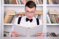 Intelligent student Royaltyfri Bild