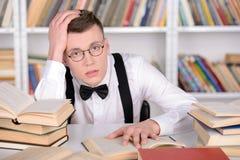 Intelligent student Arkivbild