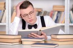 Intelligent student Arkivfoton