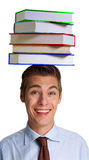 Intelligent student. Royalty Free Stock Photo